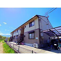 奈良県桜井市金屋の賃貸アパートの外観
