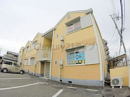 兵庫県宝塚市中筋9丁目の賃貸アパートの外観