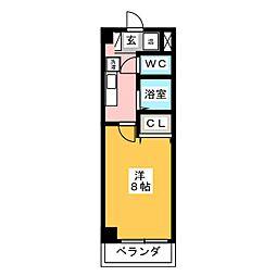 梅華荘[2階]の間取り