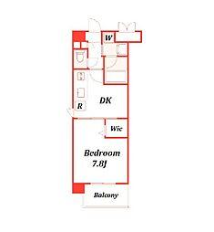 トビーズ第3ビル[2階]の間取り