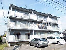 愛知県岡崎市東大友町字西浦の賃貸マンションの外観
