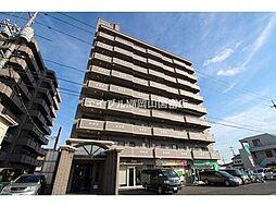 岡山県岡山市北区東古松3丁目の賃貸マンションの外観