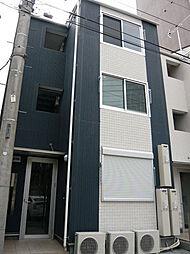 東京都大田区大森本町2の賃貸アパートの外観