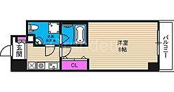 プラディオ徳庵セレニテ[5階]の間取り