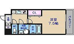 サムティ中之島WEST[5階]の間取り
