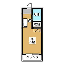 NEWハウス上田[1階]の間取り