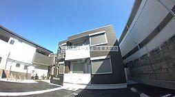 大阪府東大阪市喜里川町の賃貸アパートの外観