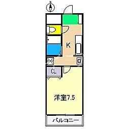 ルーア[2階]の間取り