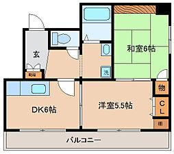 兵庫県神戸市長田区本庄町3丁目の賃貸マンションの間取り