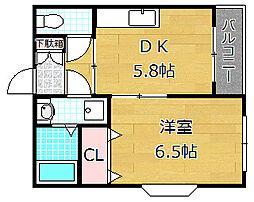 ピコットIII[2階]の間取り