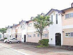 秋田県大仙市若竹町の賃貸アパートの外観