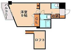 パークコート太宰府[6階]の間取り