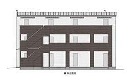 東京都町田市金森東1丁目の賃貸アパートの外観