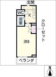 コウエツビル[4階]の間取り