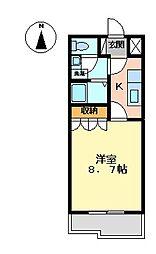 ドラマージュ[2階]の間取り