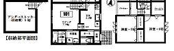 [テラスハウス] 埼玉県入間市大字狭山台 の賃貸【埼玉県 / 入間市】の間取り
