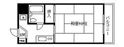 ダイアパレス井土ヶ谷[6階]の間取り
