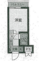 TOP・久喜第一[4階]の間取り