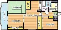 東洋レジデンス鷹の巣(特優賃)[4階]の間取り