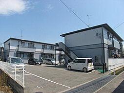 愛媛県伊予郡松前町大字西古泉の賃貸アパートの外観
