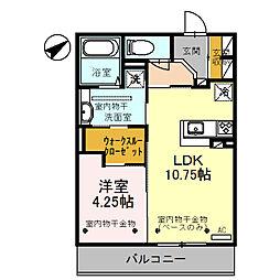 仮称)D-room小坂町北 B棟[302号室]の間取り