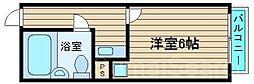 初芝ハイツ[2階]の間取り