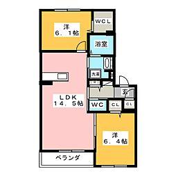 仮)シャーメゾン佐藤5丁目[3階]の間取り