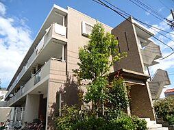 神奈川県横浜市鶴見区江ケ崎町の賃貸マンションの外観