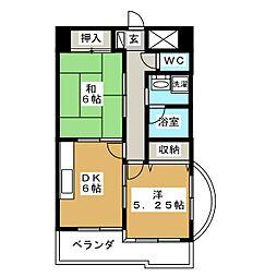 ドミール海道町[11階]の間取り