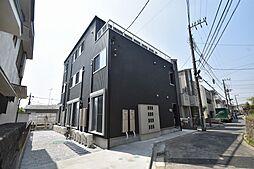 神奈川県横浜市神奈川区白幡向町の賃貸アパートの外観