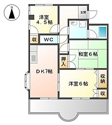コンフォース[3階]の間取り
