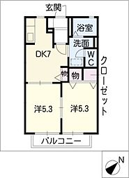 FIT[2階]の間取り