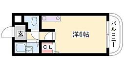 尾上の松 ミドリマンション[201号室]の間取り