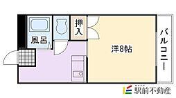 エスパシオ江頭I[110号室]の間取り