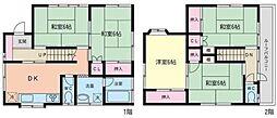 [一戸建] 神奈川県横浜市南区永田南2丁目 の賃貸【/】の間取り