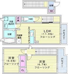 愛子駅 6.6万円