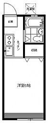 メゾンドール[A1号室号室]の間取り