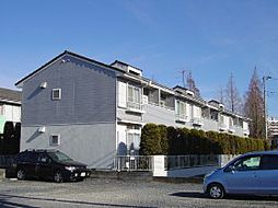 埼玉県三郷市三郷の賃貸アパートの外観