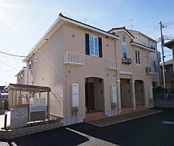 埼玉県狭山市広瀬台1丁目の賃貸アパートの外観