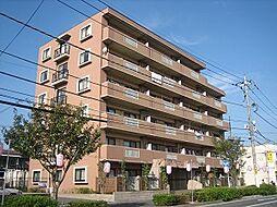 埼玉県北本市中央3丁目の賃貸マンションの外観