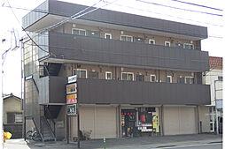 山梨県甲府市湯村二丁目の賃貸アパートの外観