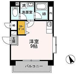 アモーレ新栄[3階]の間取り