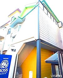 埼玉県さいたま市浦和区本太3丁目の賃貸アパートの外観