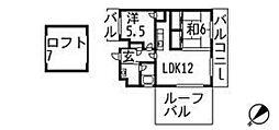 第8野地ビル[9階]の間取り