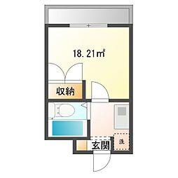 STAGE45[1階]の間取り