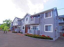 広島県安芸郡熊野町城之堀10丁目の賃貸アパートの外観
