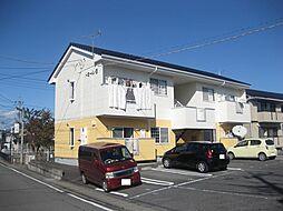 ドミールB[2階]の外観