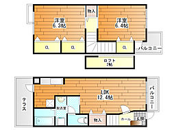 Casa Fiore  (カーサ・フィオーレ)[2階]の間取り