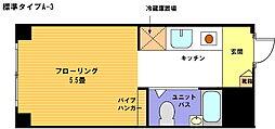 ヴェール横浜[215号室]の間取り