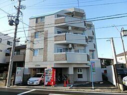 愛知県清須市西枇杷島町弁天の賃貸マンションの外観